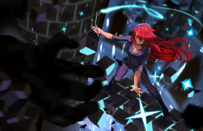 аниме, little witch academia, девушка
