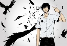 аниме, zankyou no terror, эхо, террора