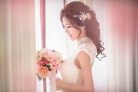 красотка, свадьба, праздник, платье, невеста