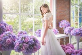 свадьба, красотка, праздник, платье, невеста