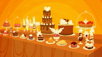 сладости, торт