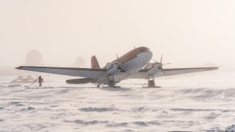 снег, Южный полюс, самолёт, лёд, Антарктида