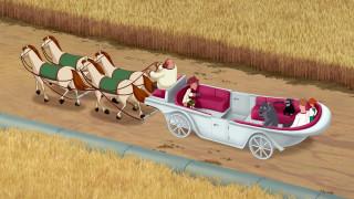 лошадь, карета