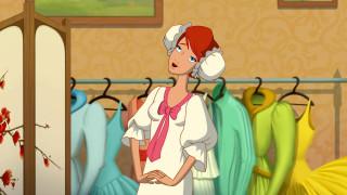 девушка, платье, эмоции, одежда