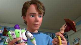 ковбой, игрушка, космонавт, мальчик