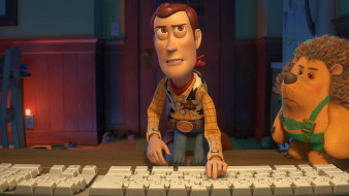 игрушка, шериф, еж, клавиатура