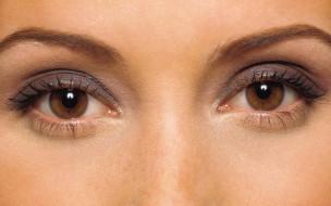 карие, глаза