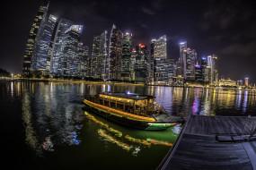гавань, ночь