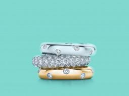 бриллианты, Кольца, украшения, стиль