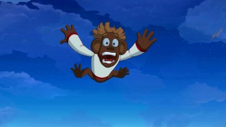 мультфильмы, иван царевич и серый волк 3, игрушка, полет