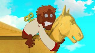 мультфильмы, иван царевич и серый волк 3, игрушка