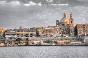 valetta,  malta, города, валетта , мальта, панорама
