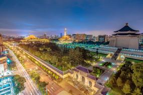 taipei,  taiwan, города, тайбэй , тайвань,  китай, панорама
