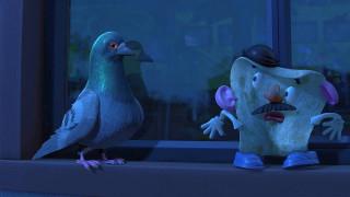 мультфильмы, toy story 3, шляпа, голубь, эмоции, усы, окно
