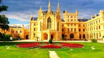 lednice castle, города, замки Чехии, lednice, castle