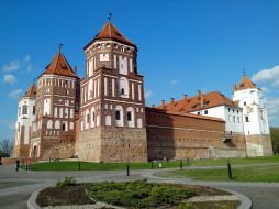 Мирский, Белоруссия, замок, дворец