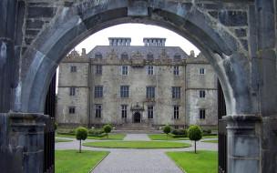portumna castle, ireland, города, замки ирландии, portumna, castle