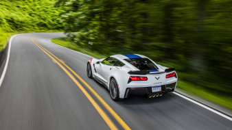 Corvette, Convertible, Grand, Sport, 2017, Chevrolet