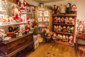 праздничные, дед мороз,  санта клаус, фигурки
