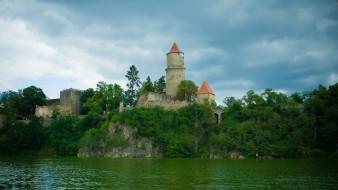 zvikov castle, города, замки Чехии, zvikov, castle