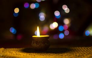 огонек, свеча