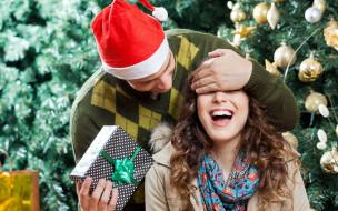 подарок, сюрприз, праздник