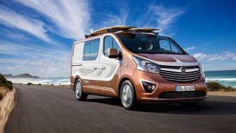 2015, Opel, Vivaro, Surf, Concept
