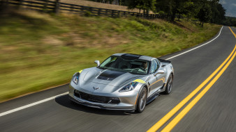 Sport, 2017, Grand, Coupe, Corvette, Chevrolet