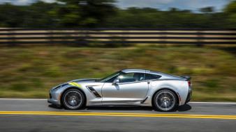 Corvette, Coupe, Sport, 2017, Chevrolet, Grand