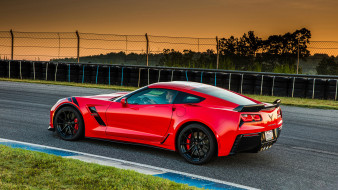Grand, Sport, 2017, Chevrolet, Corvette, Coupe