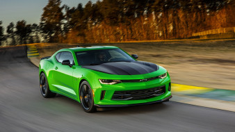 Chevrolet, 1LE, Green, 2017, Camaro