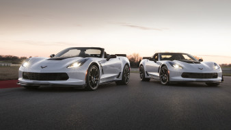 Chevrolet, Corvette, Convertible, 2018, Carbon 65, Edition, Coupe