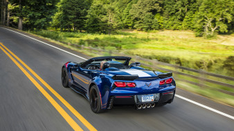 Grand, Sport, 2017, Chevrolet, Corvette, Convertible
