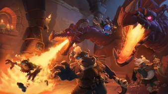 ролевая, онлайн, Heroes of Warcraft, Hearthstone