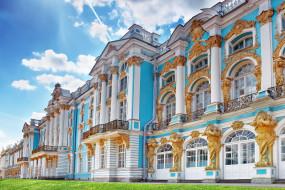 Россия, Царское Село, дворец, Екатерининский, Пушкин