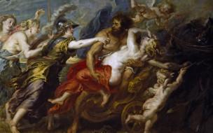 Похищение Прозерпины, картина, мифология, Pieter Paul Rubens, Питер Пауль Рубенс