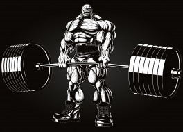 bodybuilding, men, power