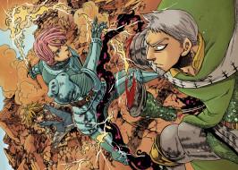 аниме, nanatsu no taizai, the, seven, deadly