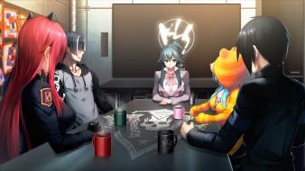 аниме, tokyo necro, персонажи