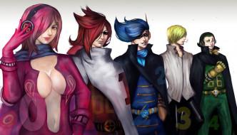 anime, big, Vinsmoke, Vinsmoke Jajji, game, One Piece, army, Germa 66, warriors, seifuku, Niji, Jajji, oppai, Reiju, Sanji