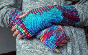 вязаные, рукава