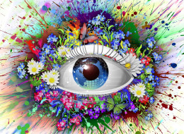 magic, colors, eyes