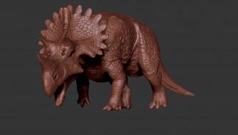 динозавр, фон