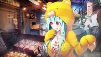 обои для рабочего стола 2560x1440 аниме, tokyo necro, девушка