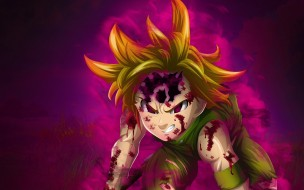 аниме, nanatsu no taizai, the, seven, deadly, sins
