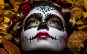 макияж, девушка, Katrina Manon