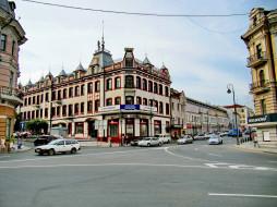 Владивосток, улица, автомобили, здания, Россия