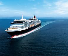 круиз, море, Queen Victoria, лайнер