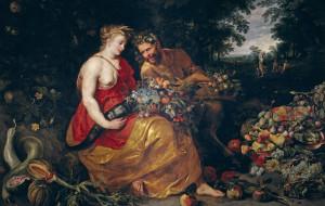 Питер Пауль Рубенс, картина, Pieter Paul Rubens, мифология, Франс Снейдерс, Церера и Пан