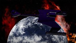 космический корабль, полет, вселенная, галактика